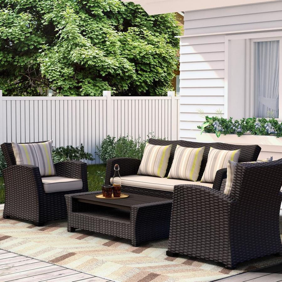 included in the patio conversation sets
