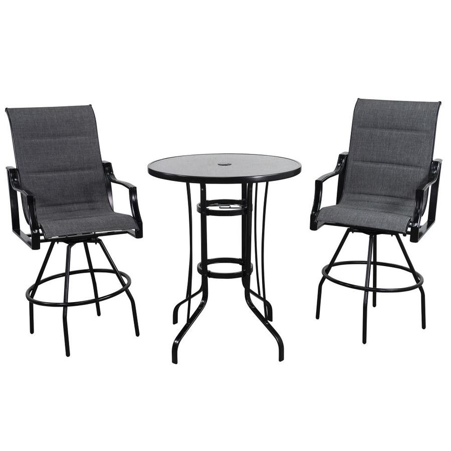 bar height round patio dining sets at