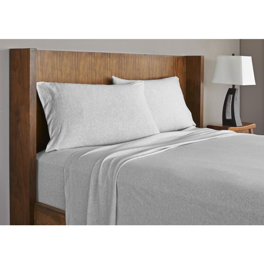 westpoint home grand patrician jersey sheet queen cotton bed sheet