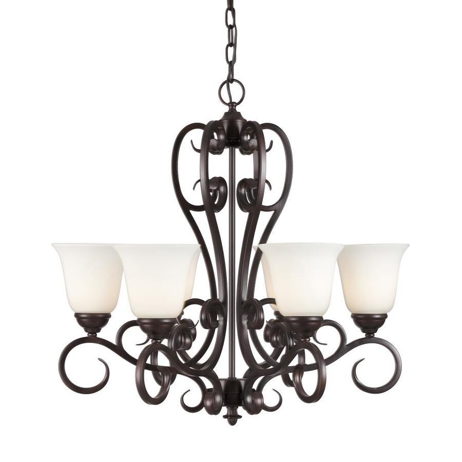 forte lighting angelo 6 light antique bronze traditional chandelier