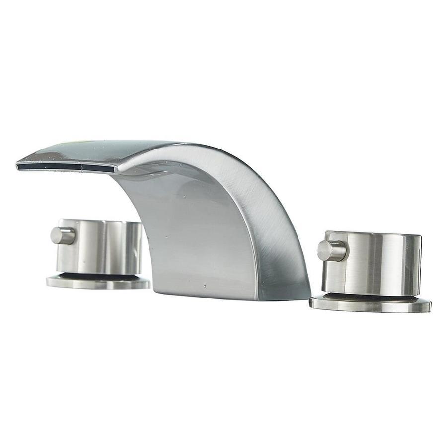 centerset bathroom sink faucet