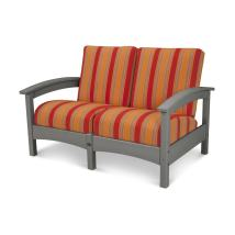 Trex Outdoor Furniture Rockport Solid Cushion Stepping