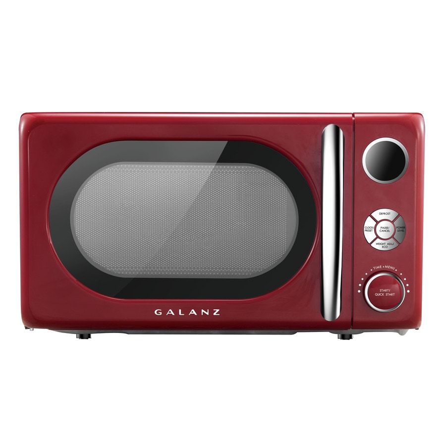 red microwaves at lowes com