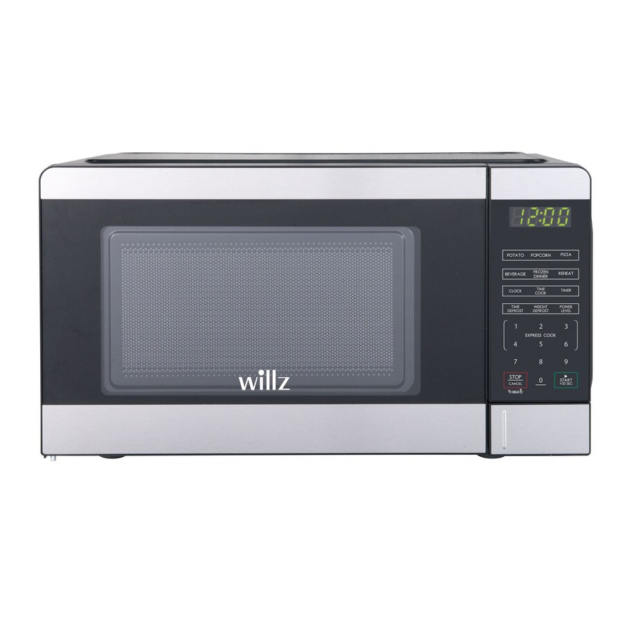 willz countertop microwave 0 7 cu ft 700 watt countertop microwave stainless steel
