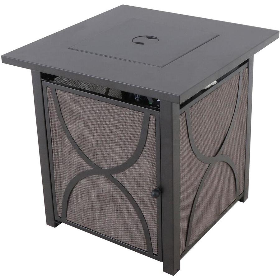 mod furniture heatside bronze tile end table