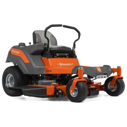 small resolution of husqvarna z248f 21 5 hp v twin dual hydrostatic 48 in zero turn lawn mower with mulching capability kit sold separately