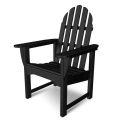 Plastic Outdoor Chairs Lowes Ikea Chair Covers Australia Shop Polywood Classic Adirondack With Slat Seat At Lowes.com