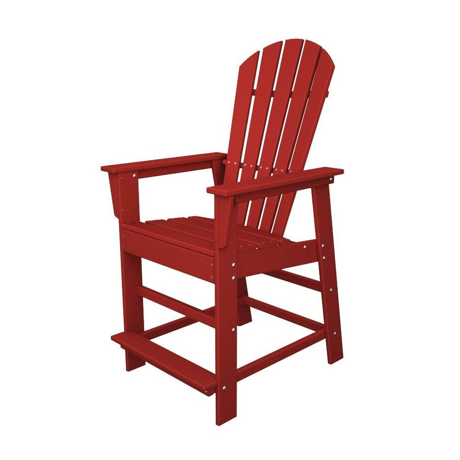 Shop POLYWOOD South Beach Sunset Red Plastic Patio