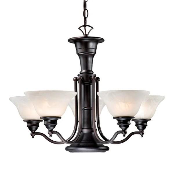 Cascadia Lighting Standford 6-light Oil-burnished Bronze