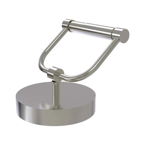 Allied Brass Satin Nickel Freestanding Countertop Spring