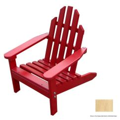 Unfinished Adirondack Chair Mission Recliner Prairie Leisure Design Aspen Wood At