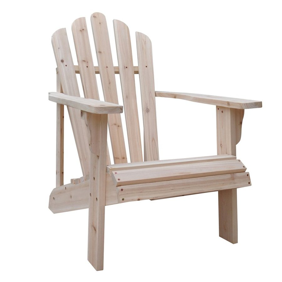 Adirondack Chair Reviews Shine Company Westport Cedar Adirondack Chair With Slat At Lowes