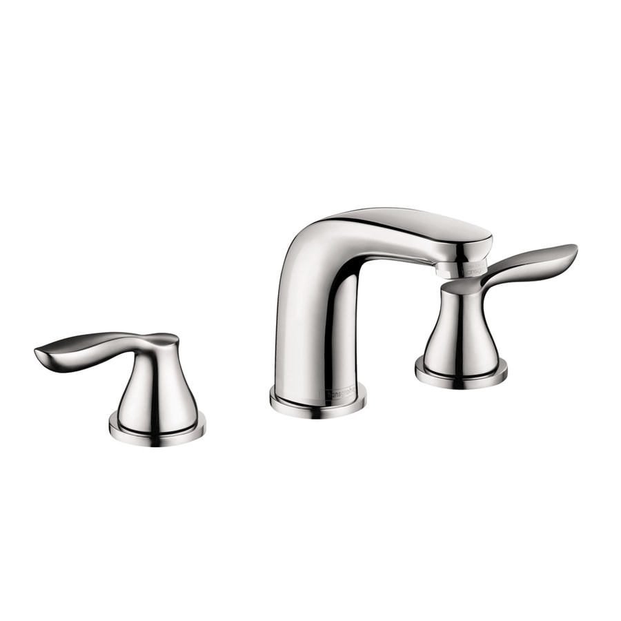 hansgrohe solaris e chrome 2 handle widespread bathroom faucet drain included