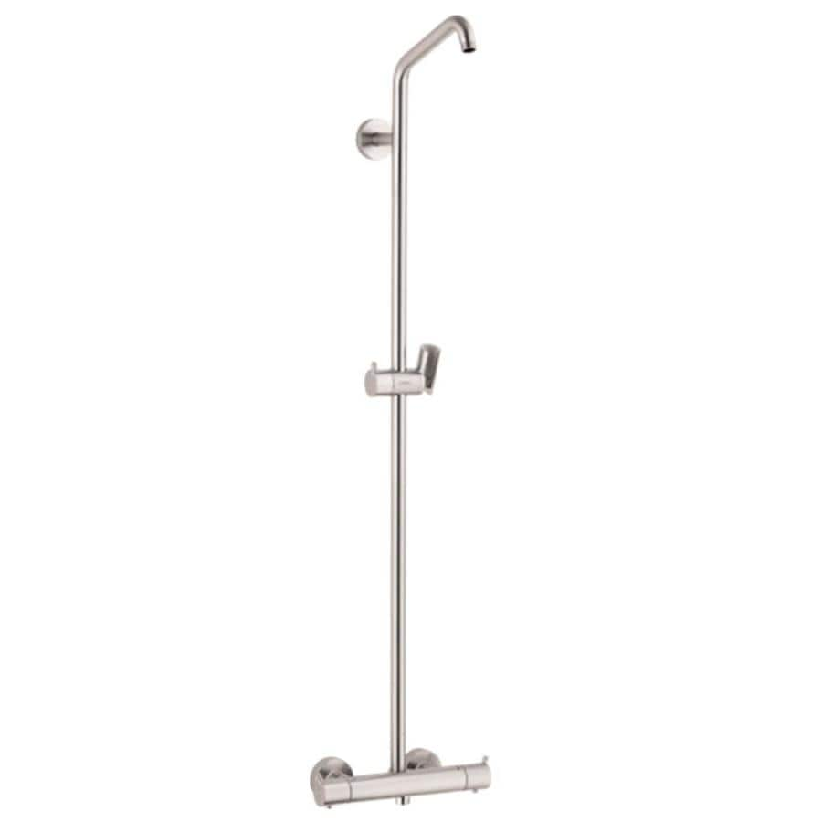 nickel 3 handle shower faucets at lowes com