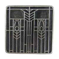 Shop Notting Hill Prairie Antique Pewter Square Square ...
