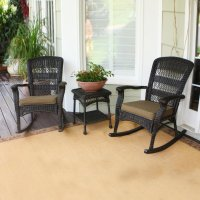 Shop Tortuga Outdoor Portside 3-Piece Wicker Frame Patio ...
