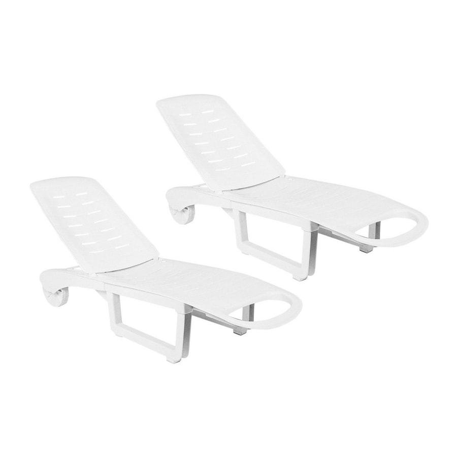 resin lounge chair weave garden chairs compamia sundance pool set of 2 chaise with slat