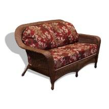 Outdoor Wicker Loveseat Cushions