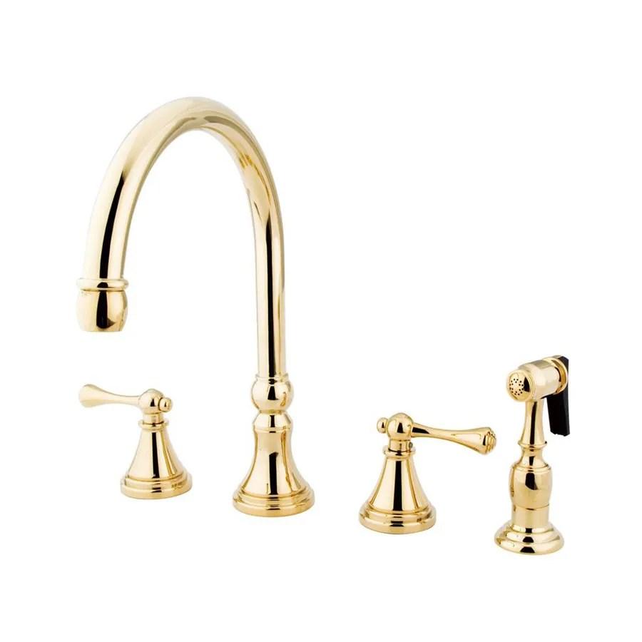 Shop Elements Of Design Polished Brass 2handle Higharc