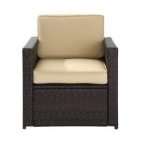 Shop Crosley Furniture Palm Harbor Brown Wicker Patio ...