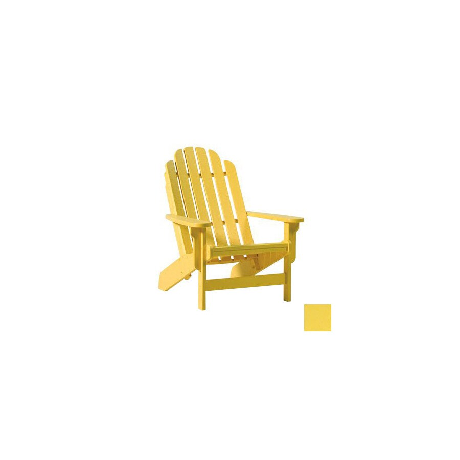 yellow adirondack chairs plastic upholstered dining chair with arms siesta furniture bayfront bright at