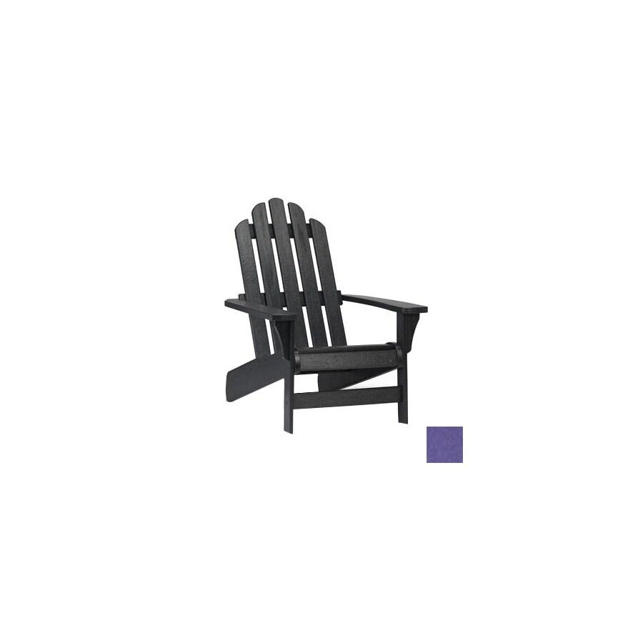 Siesta Furniture Simply Siesta Purple Plastic Adirondack ...