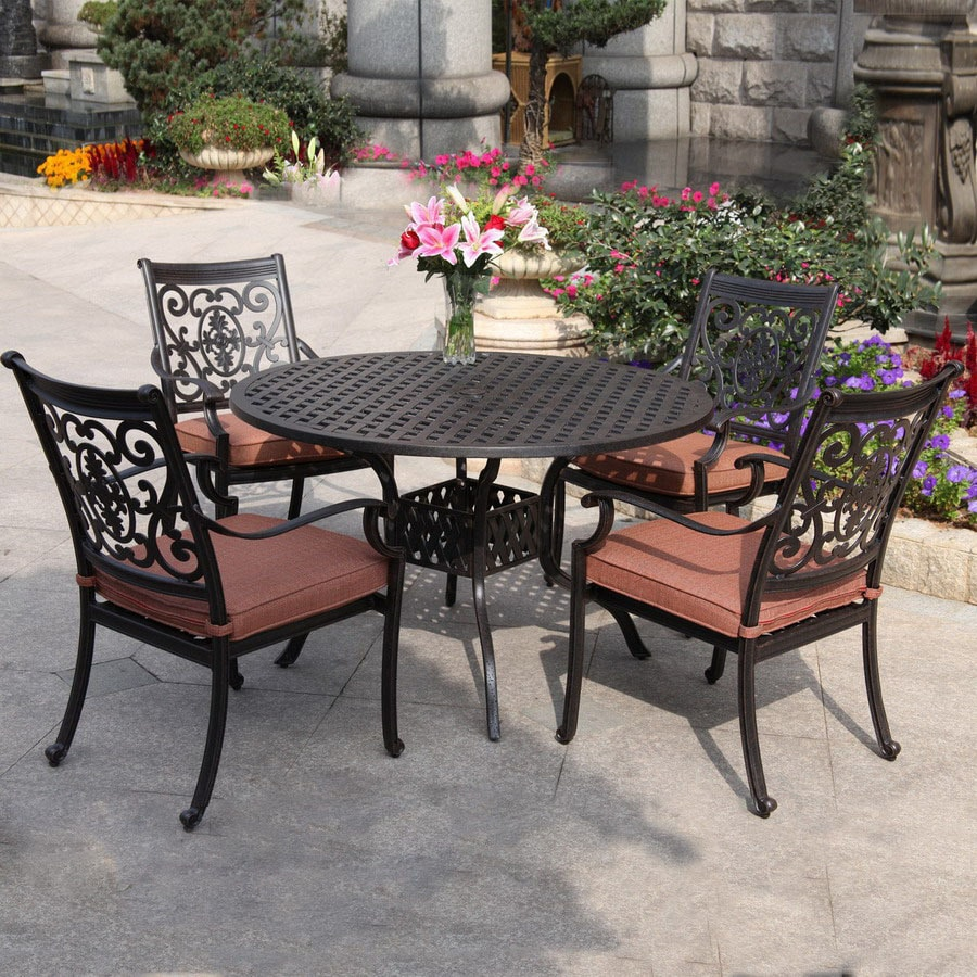 patio dining sets department at lowes com