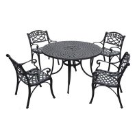 Shop Crosley Furniture Sedona 5-Piece Charcoal Black ...