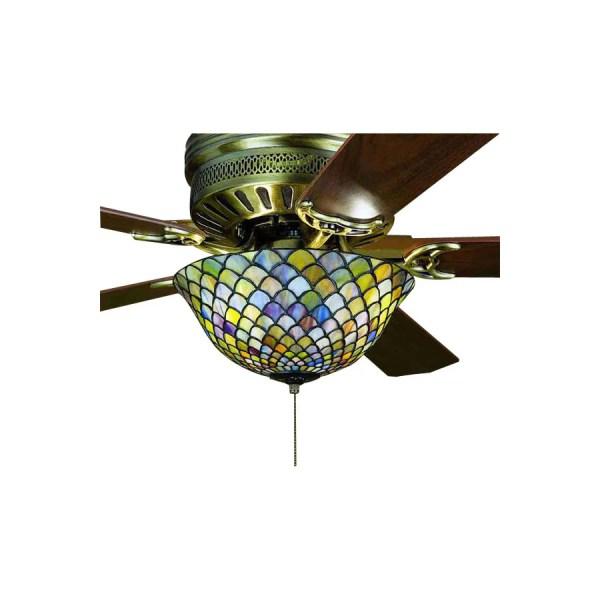 Meyda Tiffany 3-light Mahogany Bronze Ceiling Fan