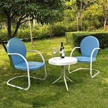Crosley Furniture Griffith 3-piece Steel Frame Patio
