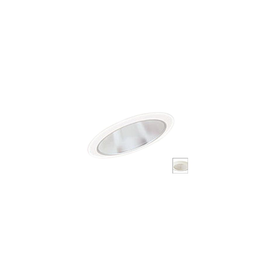 nora lighting white sloped trim