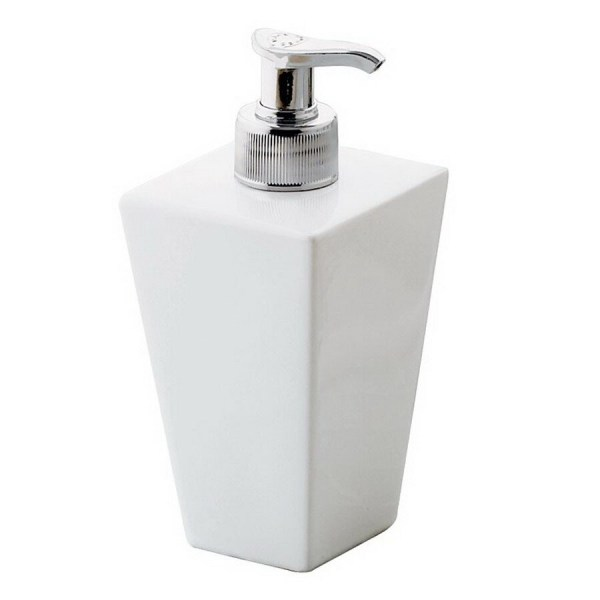 Nameeks Gedy Jamila White Soap And Lotion Dispenser