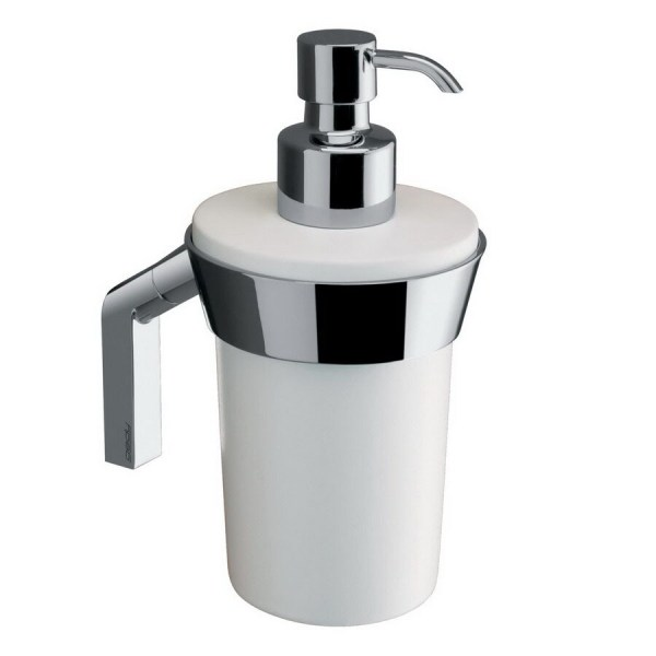 Nameeks Gedy Karma White Soap And Lotion Dispenser