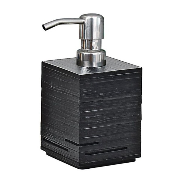 Nameeks Gedy Quadrotto Black Soap And Lotion Dispenser