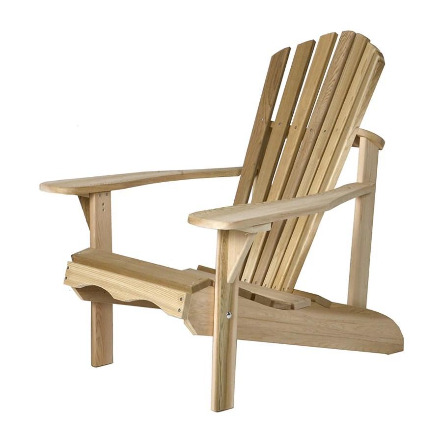 adirondack chair plans lowes stool legs all things cedar tan patio at com