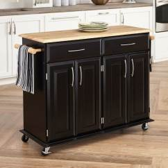 Kitchen Island Lighting Lowes Build Your Own Shop Home Styles Black Scandinavian Carts At Lowes.com