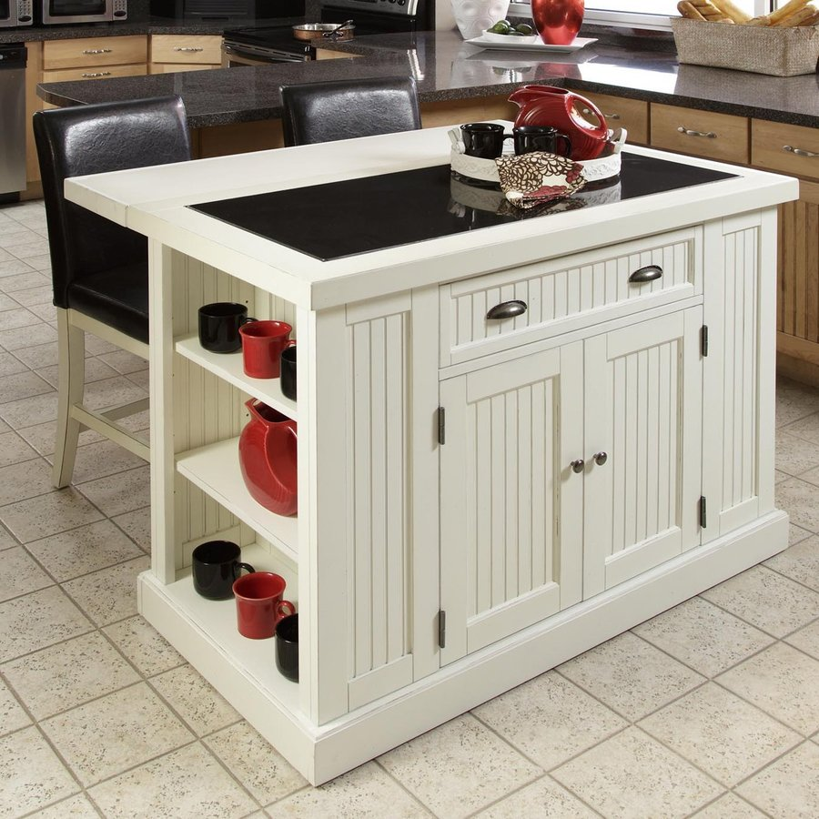 Shop Home Styles 48in L X 27in W X 3625in H White