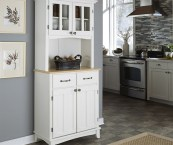 kitchen hutch white