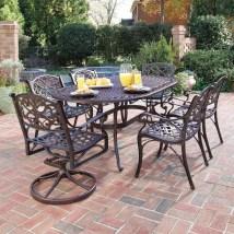 Home Styles Biscayne 7-piece Rust Bronze Aluminum