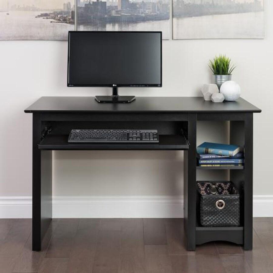 Shop Prepac Furniture Black Computer Desk at Lowescom