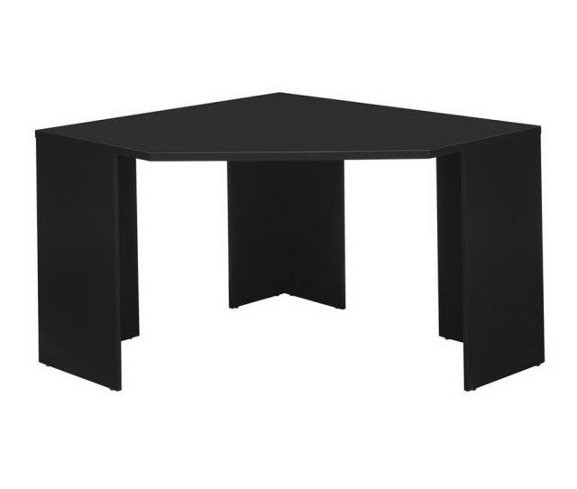 Bush Furniture Myspace Contemporary Classic Black Corner Desk
