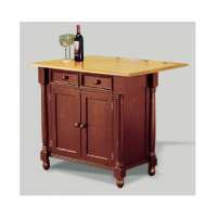 Shop Sunset Trading Brown Farmhouse Kitchen Islands at