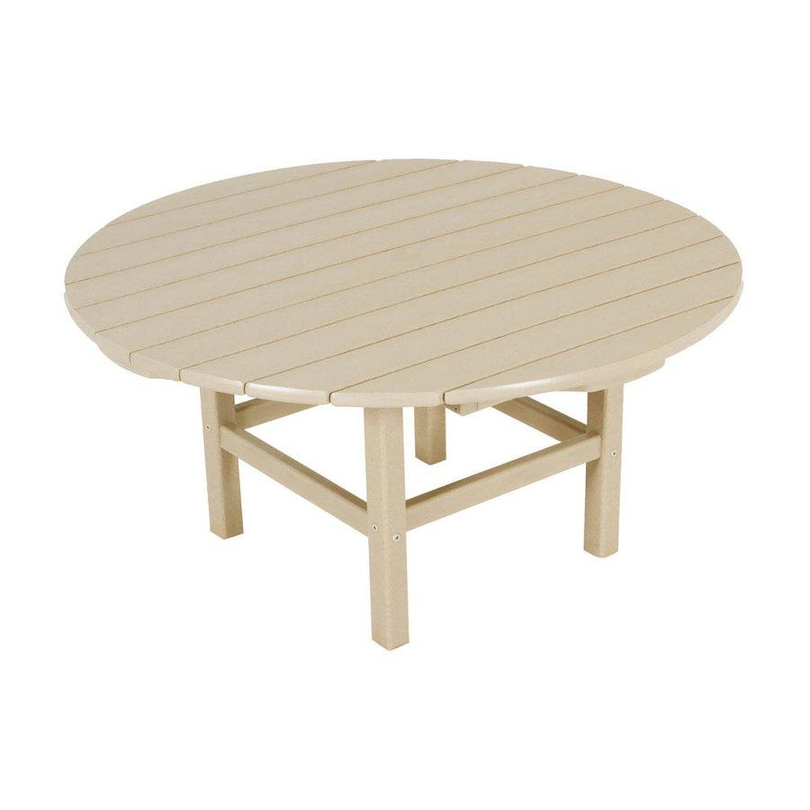 round plastic coffee table
