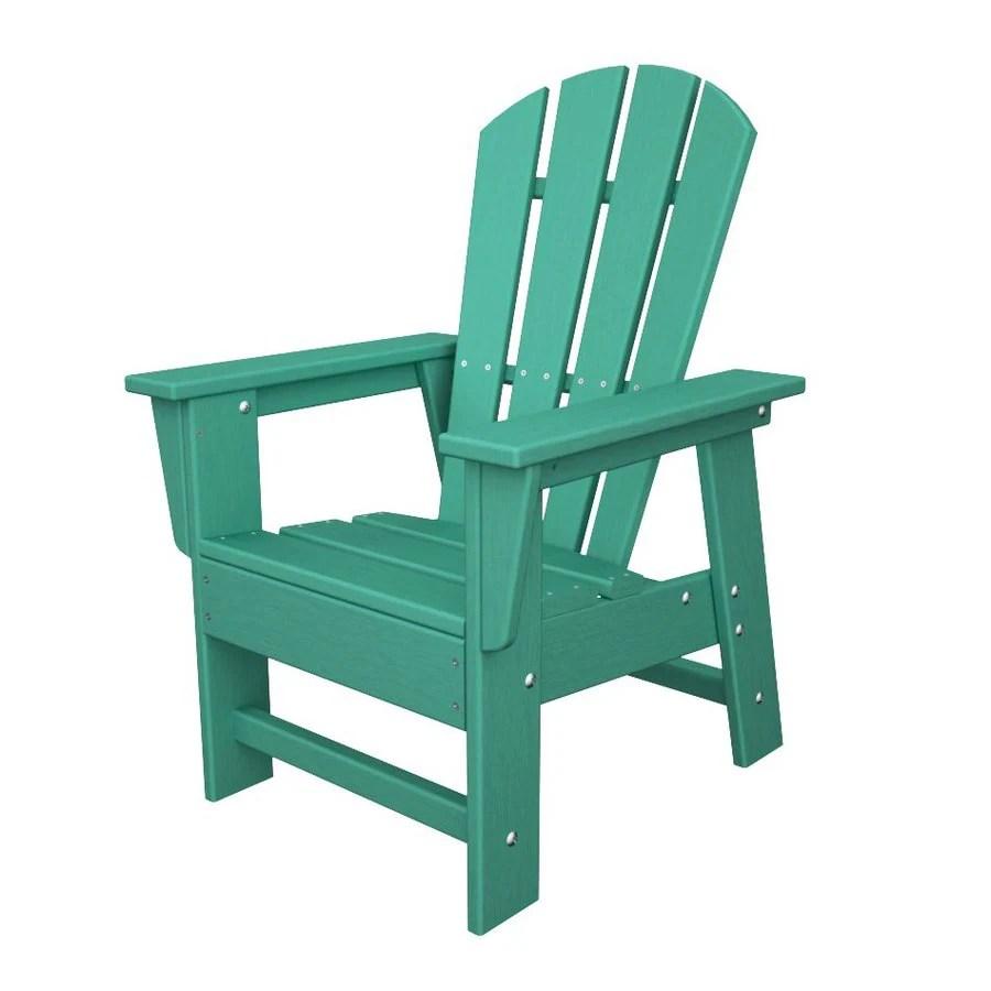 Shop POLYWOOD Kids Aruba Plastic Adirondack Chair at Lowescom