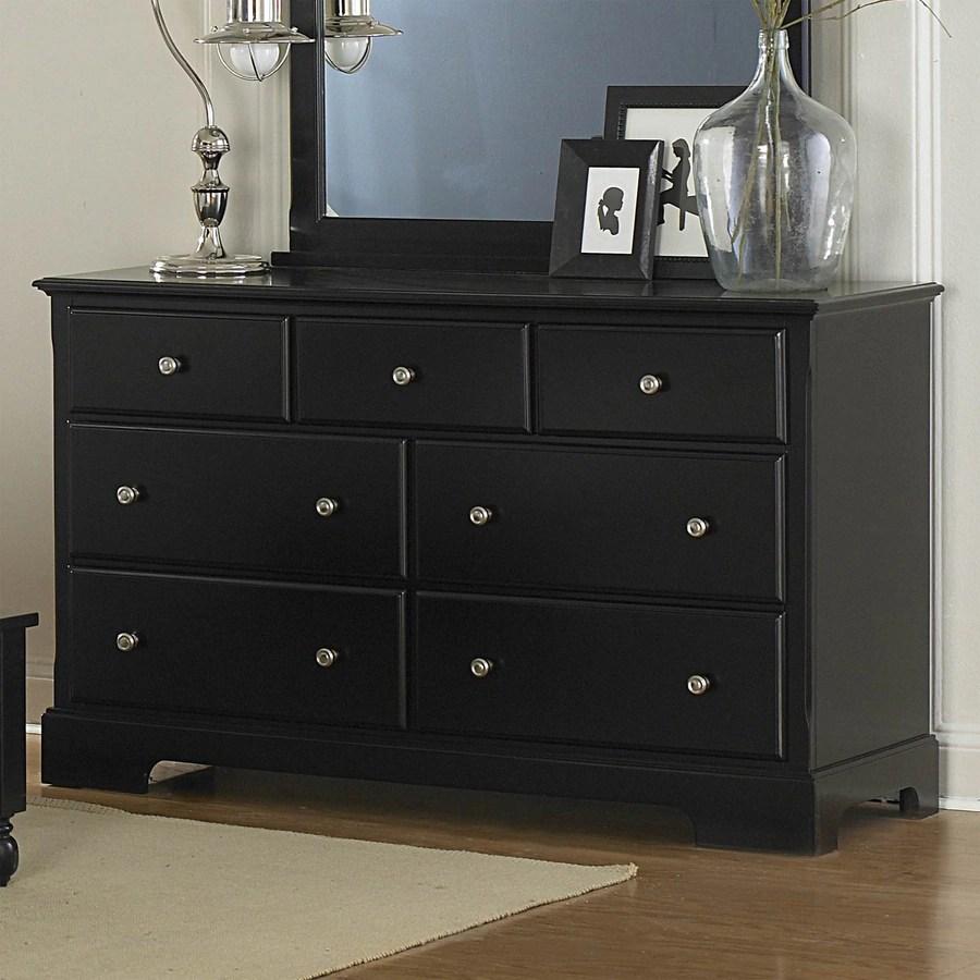 Shop Homelegance Morelle Black 7Drawer Dresser at Lowescom