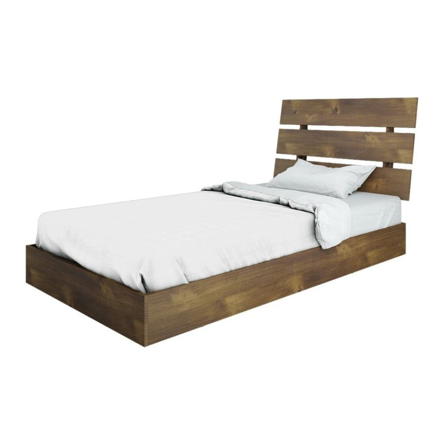 Shop Nexera Nocce Truffle Twin Platform Bed at Lowescom