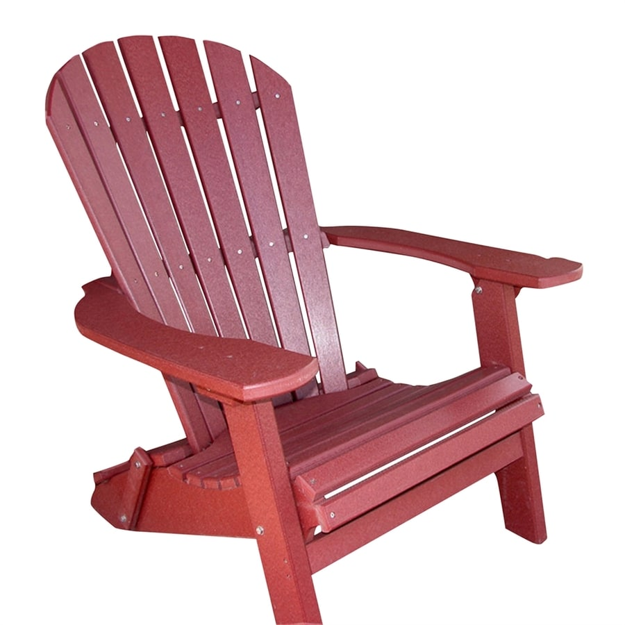 Folding Poly Adirondack Patio Chair