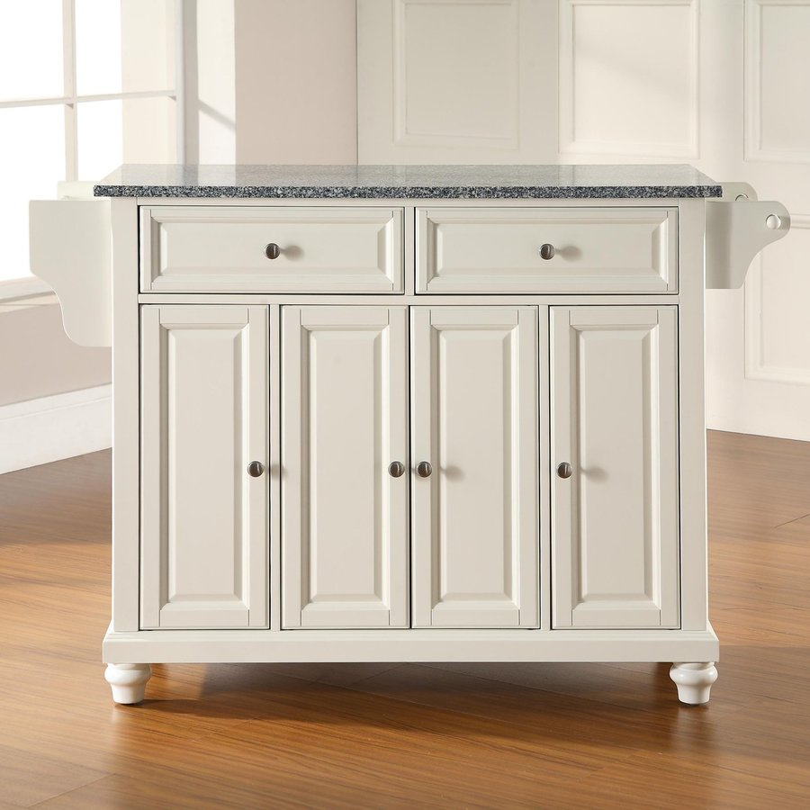 crosley kitchen island cabinets sale shop furniture white craftsman at ...