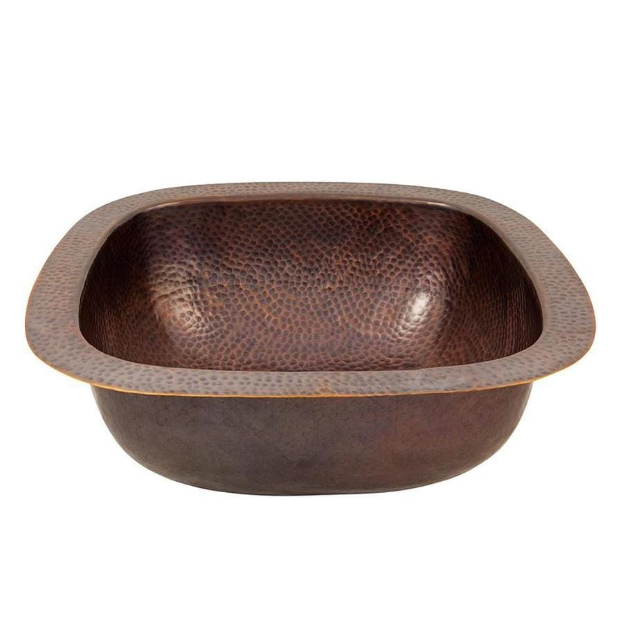 lowes copper kitchen sink led ceiling lighting shop the factory artisan antique single ...