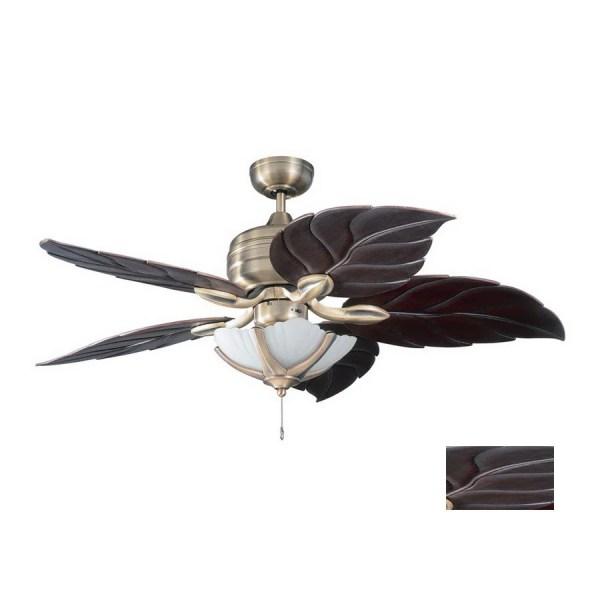 Leaf Ceiling Fan with Light